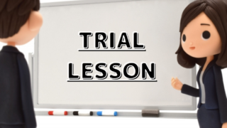 Japanese Trial lesson